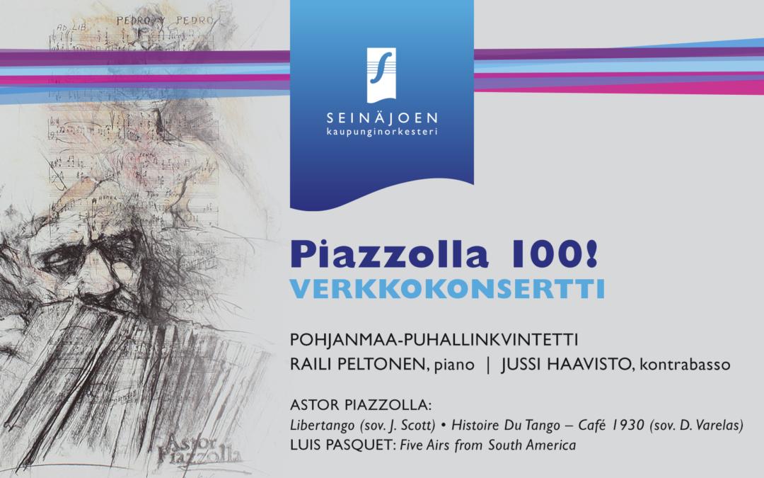 Piazzolla 100! -verkkokonsertti