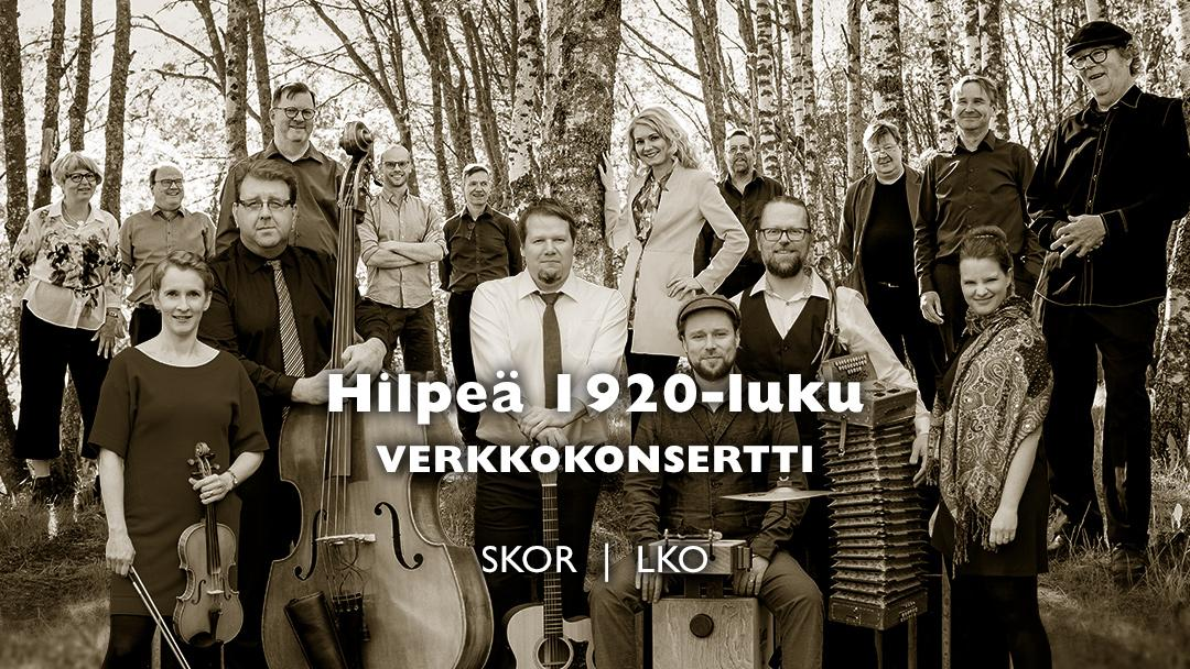 Verkkokonsertti: Hilpeä 1920-luku