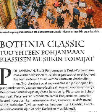 SKOR mukaan Bothnia Classic yhteistyöhön