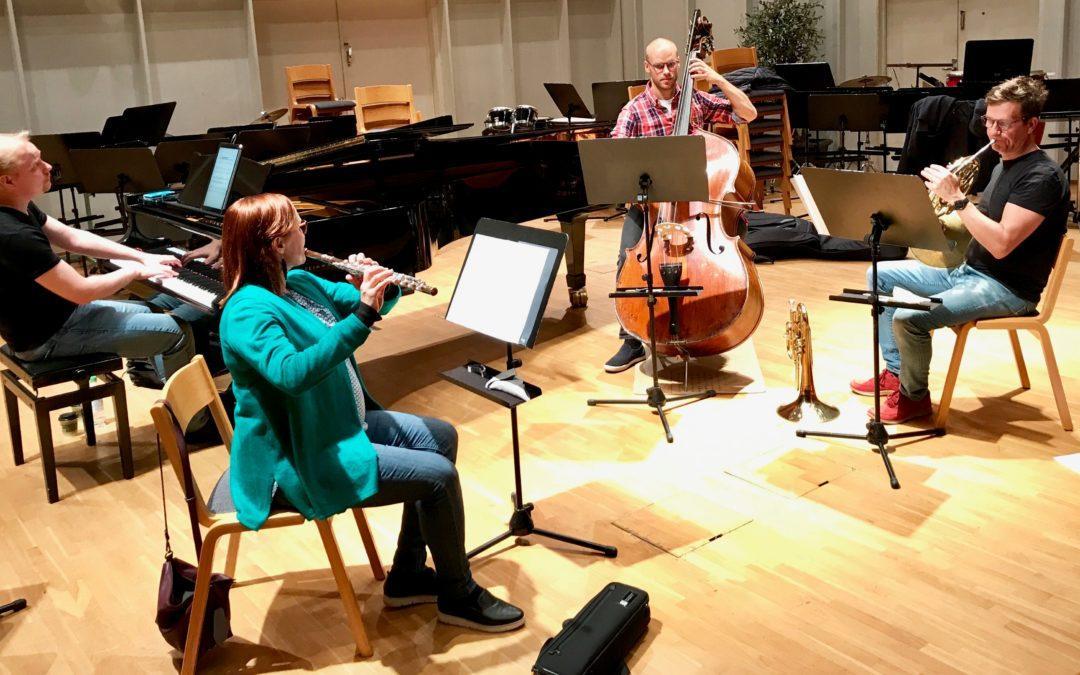 SKOR:n syyskuu huipentuu orkesterin oman soittajan kamarimusiikkiteoksen kantaesityksellä